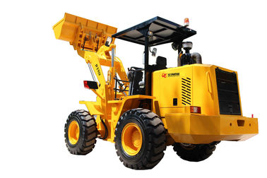 China 1.6TON with 1m3 bucket mini shovel loader with Weichai engine with awning factory