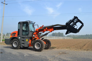 China 2ton  0.8m3 bucket telescopic boom wheel loader with max lifting height 5100mm factory