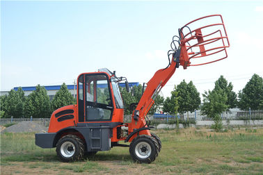 China Supply China made 4WD 1.5ton 0.7m3 bucket  meet Euro III front end small wheel loader factory