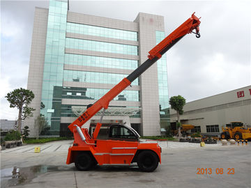China 10ton telehandler for marble sale loading and unloading at factory or port factory