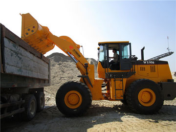 China 5ton good quality joystick control front end loader wiith cummins engine for sale factory