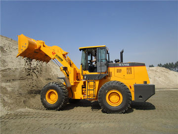 China 5ton 3cbm bucket capacity wheel loader with Weichai engine or cummins engine factory