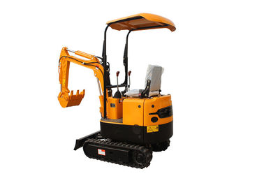 WY08H 800kg mini rubber track excavator compact digging machine