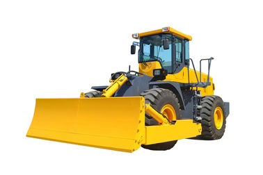 China China made wheel loader with Angling and Tilting blade dozer factory
