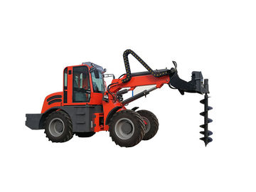 China Wenyang Machinery WY2500 telescopic loader forklift with earth auger factory