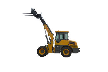 China China WY3000 lifting farm machinery  telescopic loader with fork factory