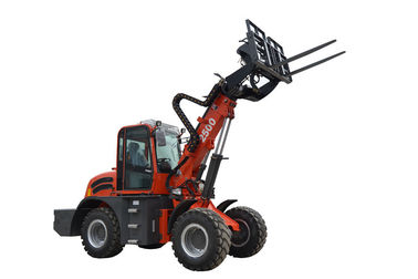 China WY2500 farm machinery 2.5ton telescopic boom forklift with quick coupling factory