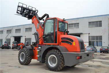 China China made  hay stacking equipment  4WD 2.5ton telescopic forklift factory