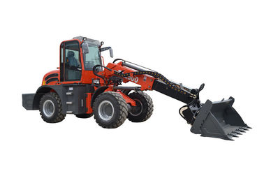 China WY2500 earth machinerey telescopic loader with 4 in 1 bucket factory