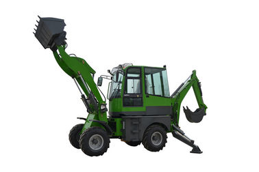 China China CE approved WY22-16  1.6ton 4WD backhoe loader with excavator distributor