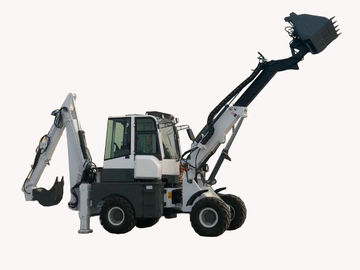 China WY22-16  1.6ton 4WD telescopic backhoe loader dumping height 5.2m distributor
