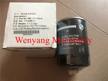 China Dongfeng  SC11CB220G2B1 engine spare parts fuel filter D00-305-03+A factory