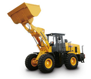China Lonking CDM835 wheel loader 3.5TON with Cummins engine Tier 2 engine 1.8m3 distributor