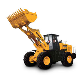 China Lonking CDM856 wheel loader 5TON with Weichai Tier 2 engine 3m3 distributor