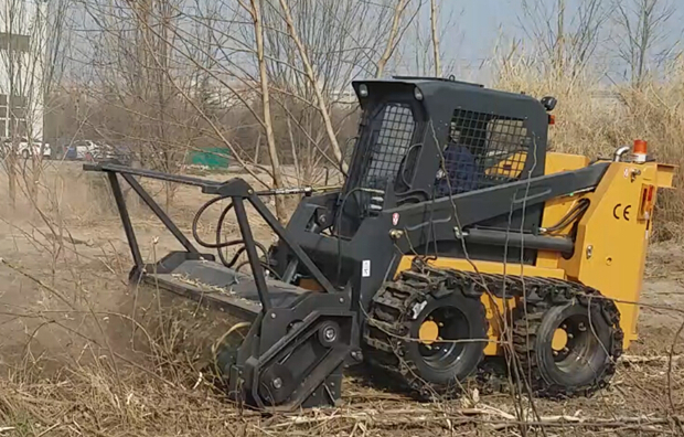China Wenyang Machinery  heavy forestry mulcher for skid steer loader