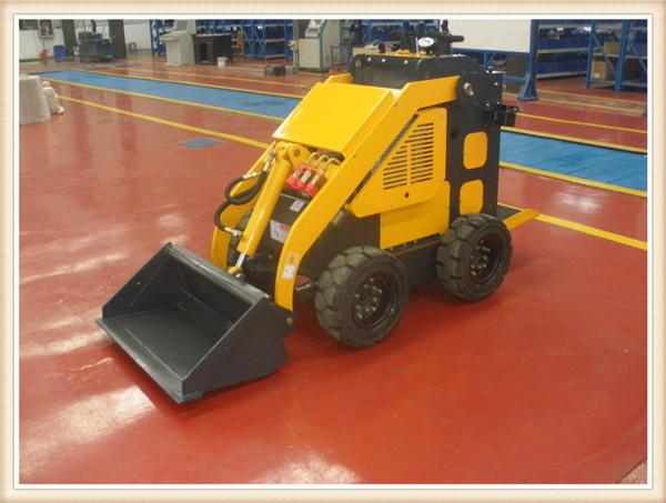 Wenyang Machinery WY280 Mini skid steer loader with 4 in 1 bucket