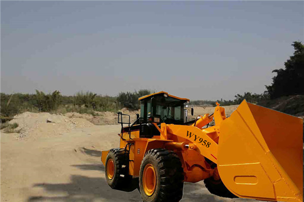 Chinese Wenyang machinery  WY958 5ton single rock arm  wheel loader  3m3 bucket Weichai engine