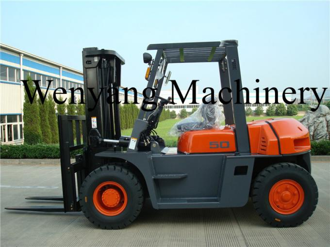 China forklift 5ton diesel forklift truck with ISUZU engine 6BG1 EPA approved