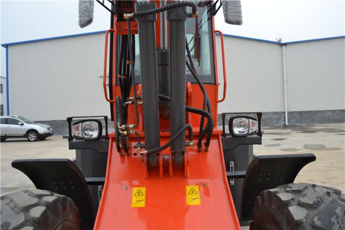 Wenyang Machinery WY2500 telescopic loader with 4 in 1 bucket