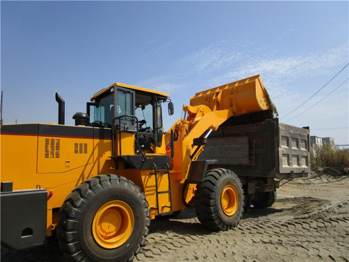 China factory WY958  single arm 5ton 3m3 weichai engine front end loader